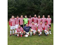 Men's 11 aside football - players needed