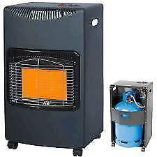 New style calor gas heater with bottle