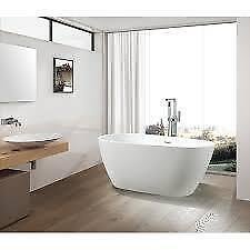 "Vanity Art 59"" x 29.5"" Freestanding Soaking Bathtub NEW ** 5 CORNERS FURNITURE**"
