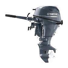 2018 Yamaha F25 outboard motor