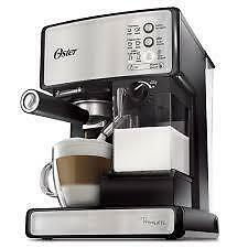 Oster (BVSTEM6601-033) One-Touch Brewer Espresso Cappuccino & Latte Maker