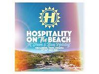 Hospitality on the Beach tickets x2