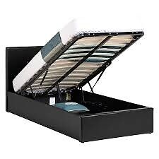 Single (3ft) Ottoman Storage Bed - Bargain NEW YET ONLY £89