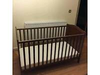 Pine Baby Cot