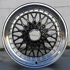 "BBS RS style brand new 16"" inch x 9j 5x100 Subaru forester legacy outback Alloy wheels alloys wheel"