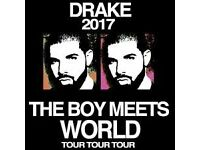 DRAKE CONCERT - AMSTERDAM - FEBRUARY 26 - GREAT SEATS! UP TO 4 TICKETS AVAILABLE