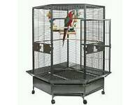 Brand new liberta parrot cage big size h-1830 -w-1000-d1130 brand new still in box