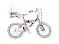 "Avigo 16"" Pedal Pets Girls Puppy Bike"