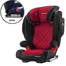 NEW UNUSED RECARO MONZA 2 CAR SEAT - Suitable for the use from approx. 3 to 12 years old.