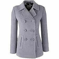 Womens cashmere pea coat