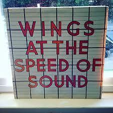 vinyl wings at the speed of sound 33 tour Lp