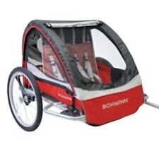 SCHWINN DELUXE DOUBLE BIKE TRAILER