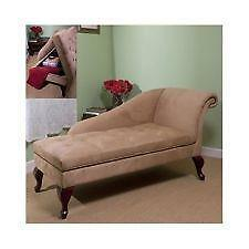 leather chaise lounge ebay. Black Bedroom Furniture Sets. Home Design Ideas