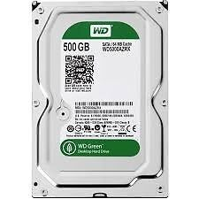 "500 GB HARD DRIVES 3.5"" : Western Digital Caviar Green WD5000AADS SATA 32 MB Cache or Seagate"