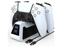 Official Sony PlayStation - DualSense™ Charging Station - Brand New Factory Sealed & Boxed.