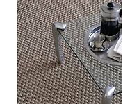 Carpet,sisal,sea grass a,wool carpet and Pp and viynl supplier and fitter call for Quote