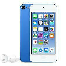 Apple iPod touch 6th Generation Blue, Used, 128GB Storage, Warranty till Febraury 2020, #298touch6th