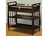 Lovely wooden changing table
