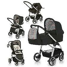 Hauck lacrosse pushchair and car seat