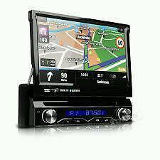Xtrons In-car flip screen CD/DVD/SATNAV
