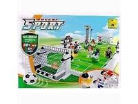 AUSINI Football Field 25690 Sport Soccer Game With Action Figures Building Set (like Lego) Boxed