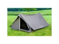 French canvas army tent 2 man