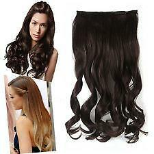 Natural hair extensions ebay natural brown hair extensions pmusecretfo Images