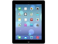 "APPLE iPad 2 32GB Wi-Fi 9.7"" BLACK TABLET FRONT & REAR CAMERA 3 MONTH WARRANTY USB CHARGE LAPTOP PC"