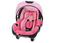 Princess car seat