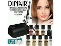 Dinair airbrush make up kit