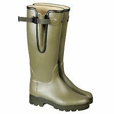 Le Chameau green handmade wellington boot.