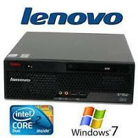 LENOVO FACTORY REFURB SALE!! LENOVO M58, 4 GB, HDMI,WIN7!!!
