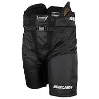 NEW Bauer Totalone NXG Sr. Black Hockey Pants (Size:MT)