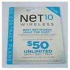 Net10 Micro Sim Card