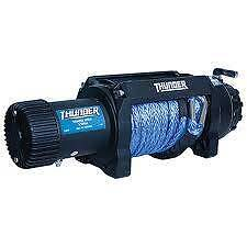 Thunder 4x4 winch 12,500lb Dyneema rope Ellenbrook Swan Area Preview