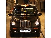 Taxi to rent Driver Black Cab Cheap Rental at your door!!