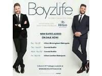 2 x Boyzlife tickets Glasgow tonight