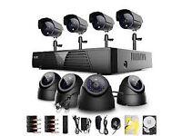 CCTV CAMERA KIT SECURITY SYSTEM 4 CHANNEL