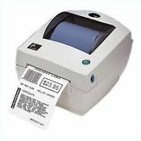 Zebra THERMAL printer Imprimante  code bar label printer  lp2844