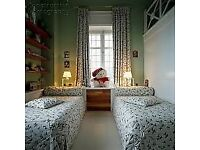 TWIN ROOM with two separate single beds