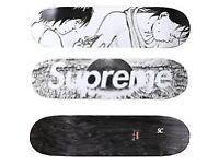 Supreme x Akira Skateboard Deck - in hand