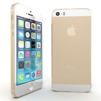 IPHONE 5S 16GB NEW/NEUF ROGERS/CHATR WITH/AVEC GAURANTY
