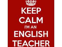 Experienced native English teacher