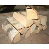 Kiln Dried Birch Firewood - Delivered to Your Home