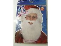 SANTA BEARD AND GLASSES FANCY DRESS GREAT FOR A CHRISTMAS PARTY