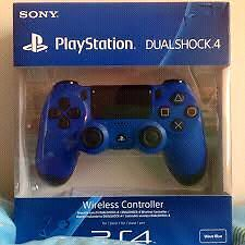Blue PS4 Controller Brand New Sealed