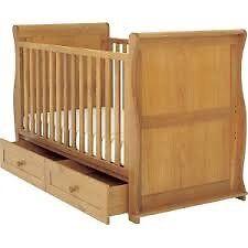 """East Coast """"Alaska"""" Childrens Cot Bed"""