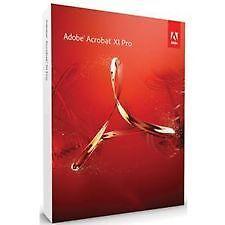 Adobe Acrobat Professional X1 (Retail) 2 PC Licence