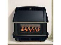 BRAND NEW Robinson Willey Firecharm LFE 4.4 Kw Gas Fire (Black or Bronze) BRAND NEW