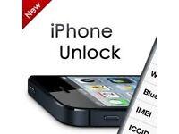 iPhone 7 7 Plus 6 6 Plus 6S 6S Plus 5C SE 5 5S Unlocking Service - ANY Network - 24H